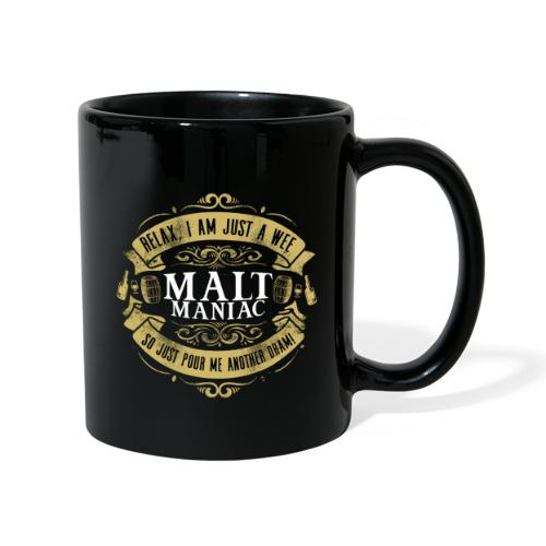 Malt Maniac - Tasse einfarbig