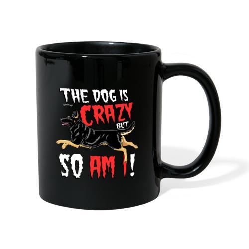 German Shepherd Crazy 4 - Yksivärinen muki