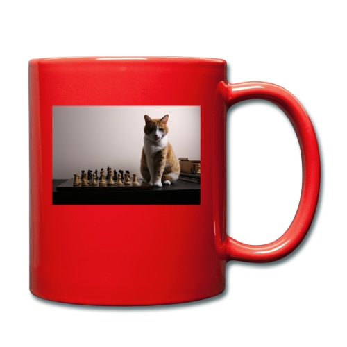 Charlie and his chess board - Full Colour Mug