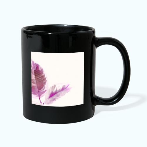 Tropical leaf Nature Zen watercolor - Full Colour Mug