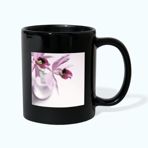 Orchid Vase Watercolor Minimalist - Full Colour Mug