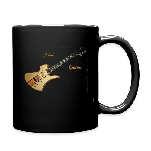 I love Guitars - Tasse einfarbig