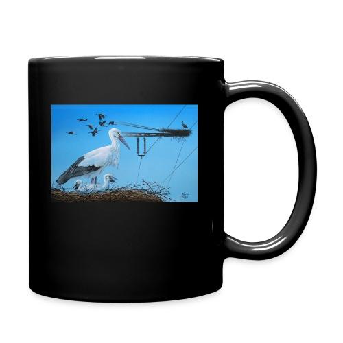Storch - Tasse einfarbig