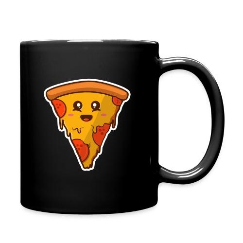pizaa funny - Taza de un color