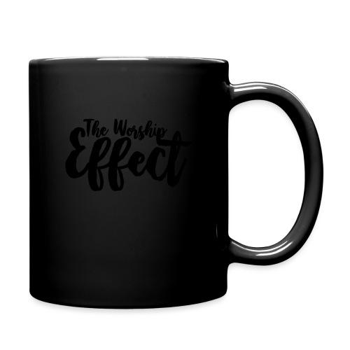 The Worship Effect LOGO Black - Full Colour Mug