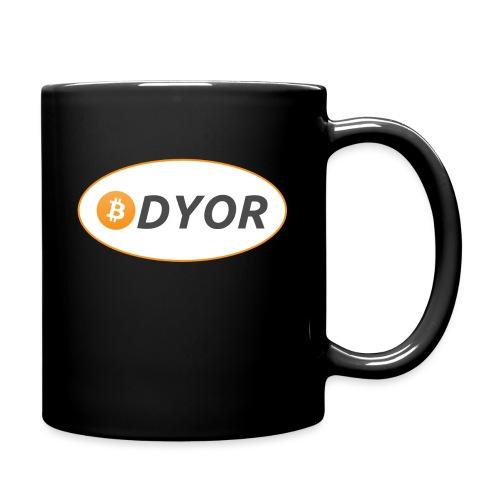 DYOR - option 2 - Full Colour Mug