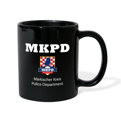 MKPD Märkischer Kreis Police Department - Tasse einfarbig