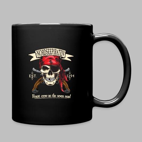 Nordseepiraten Piratenschädel Totenkopf Geschenke - Tasse einfarbig