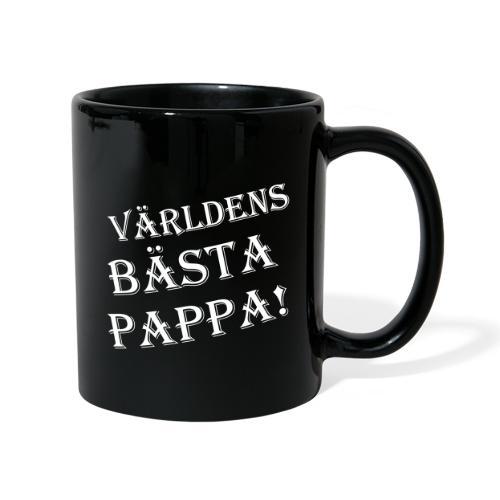 Världens Bästa Pappa - Enfärgad mugg