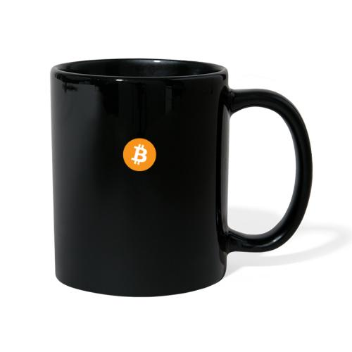 Bitcoin Digital Style - Tazza monocolore