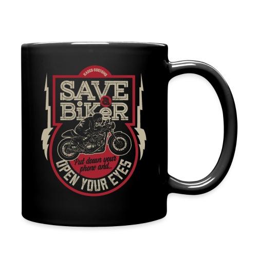Save A Biker - Full Colour Mug