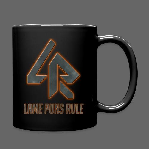 Lame Puns Rule: Logo - Full Colour Mug