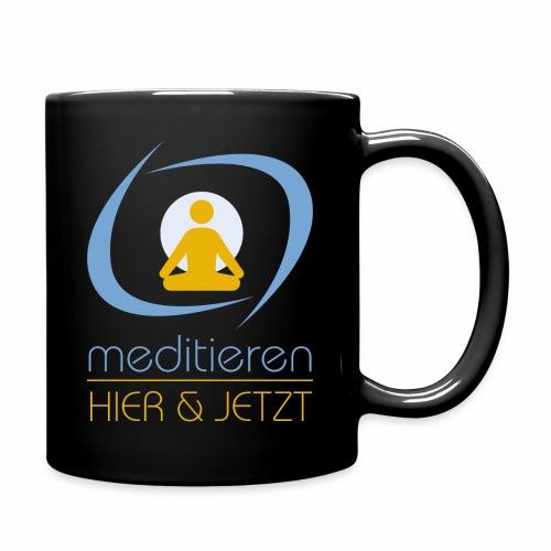 MeditierenHierJetzt.ch - Tasse einfarbig