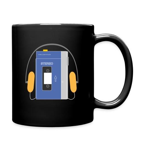 Stereo walkman in blue - Full Colour Mug