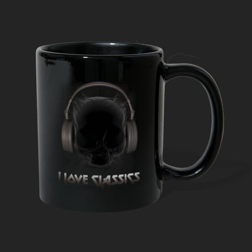 I love classics Black - Mug uni