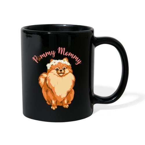 Pommy Mommy Pomeranian - Enfärgad mugg