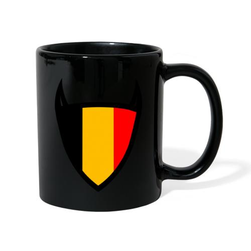 Diable du bouclier national belge - Mug uni