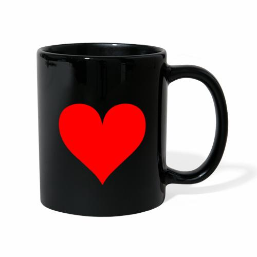 Sydän - Yksivärinen muki