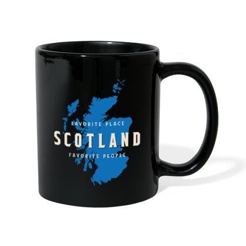 Scotland: Favorite Place, Favorite People - Tasse einfarbig