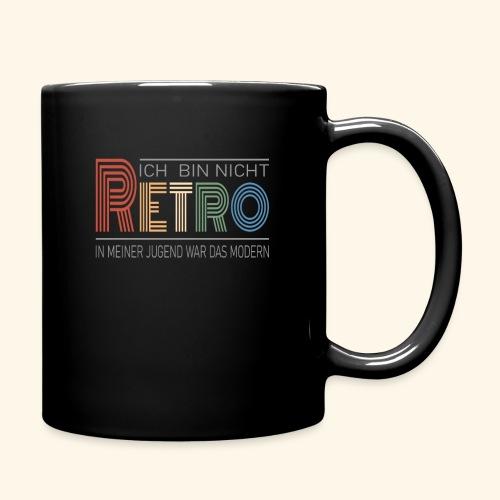 Ich bin nicht Retro Geschenk Geburtstag vintage - Tasse einfarbig