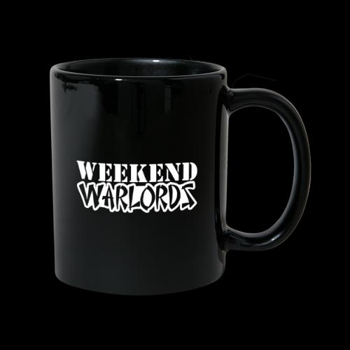 WEEKEND WARLORDS_WHITE on - Full Colour Mug