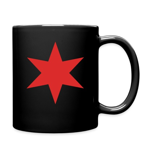 Red Chicago Star - Full Colour Mug