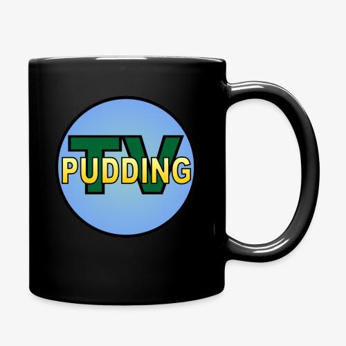 Pudding-TV Logo - Ensfarget kopp