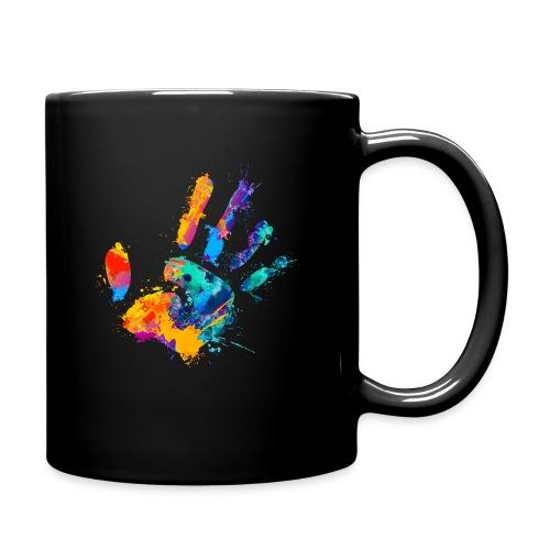 Logo - Ensfarvet krus
