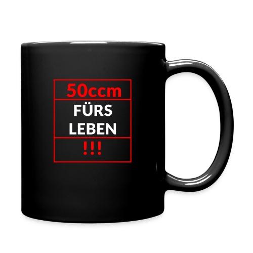 50ccm Fürs Leben - Tasse einfarbig