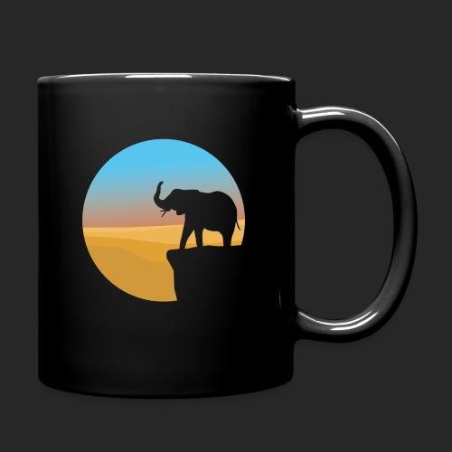 Sunset Elephant - Full Colour Mug
