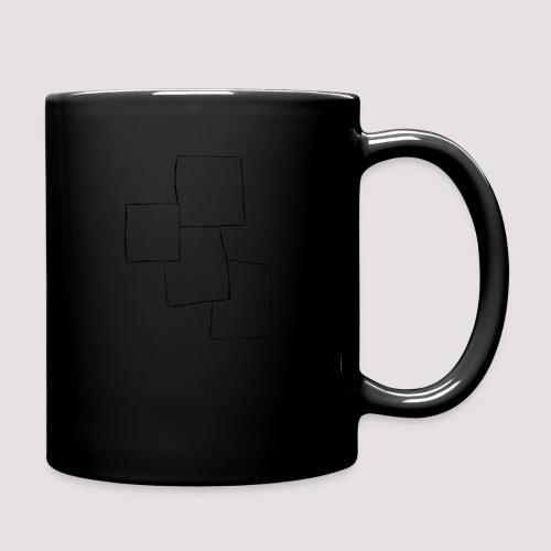4 Squares - Ensfarget kopp