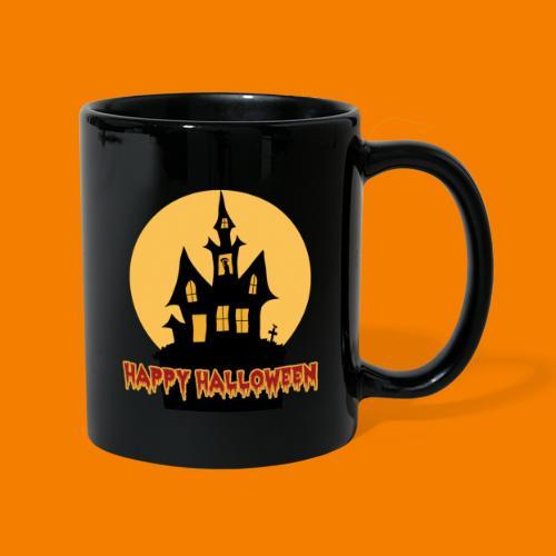 Happy Halloween - Enfärgad mugg