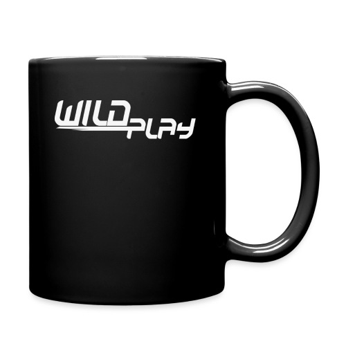 wildplay logo transparent - Tasse einfarbig
