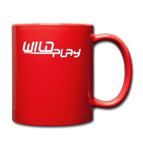 wildplay logo transparent - Tasse einfarbig