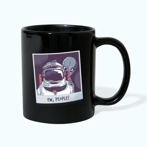 Aliens and astronaut - Full Colour Mug