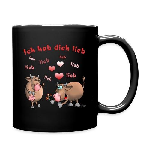 Liebe - Heiratsantrag - Tasse einfarbig