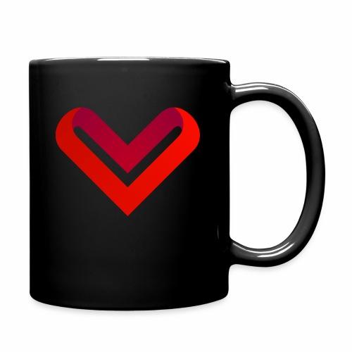 Coeur de V - Mug uni