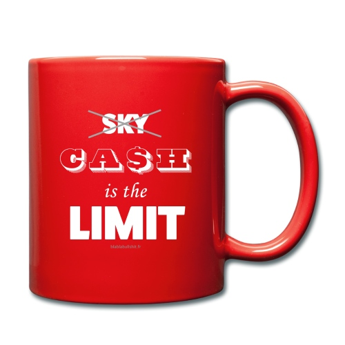 Cash is the limit - Mug uni