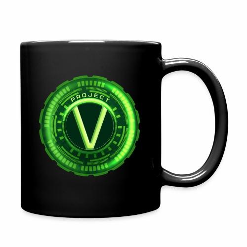 V_Logo_gross - Tasse einfarbig