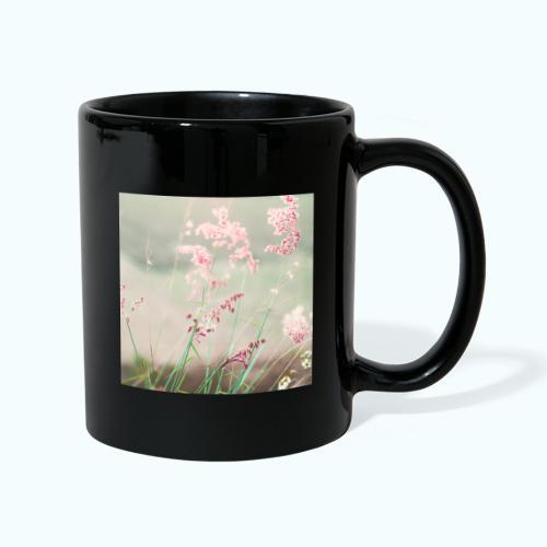 Summer meadow watercolor nature - Full Colour Mug