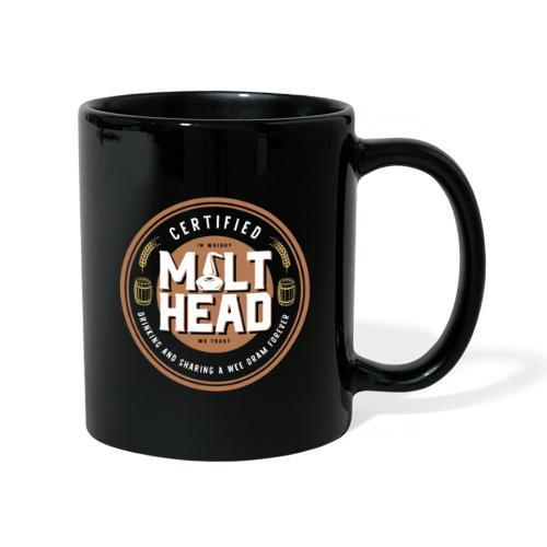 Certified Malthead - Tasse einfarbig
