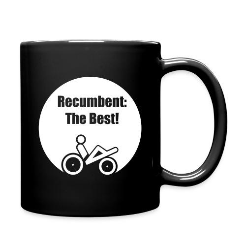 logo recumbent the best - Tasse einfarbig