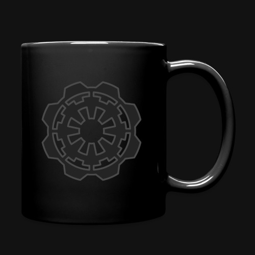 DarkerImage Black on Black (LIMITED) - Full Colour Mug