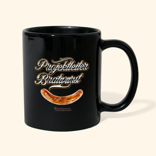 Grillen Design Projektleiter Bratwurst - Tasse einfarbig
