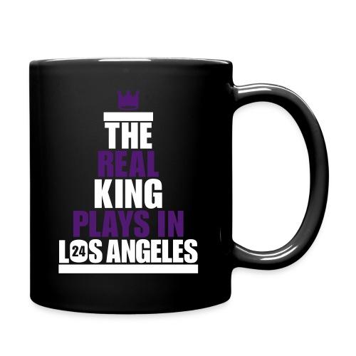 The Real King - Tasse einfarbig