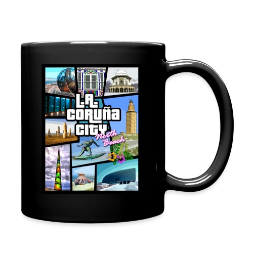 CORUÑA CITY NORTH BEACH - Taza de un color