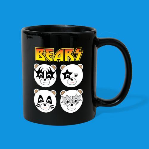 Kiss Bears square.png - Full Colour Mug