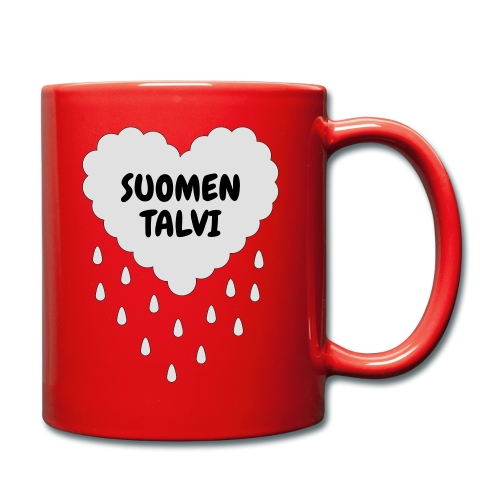 Suomen talvi - Yksivärinen muki