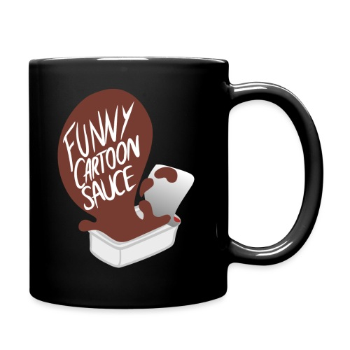 FUNNY CARTOON SAUCE - FEMALE - Full Colour Mug