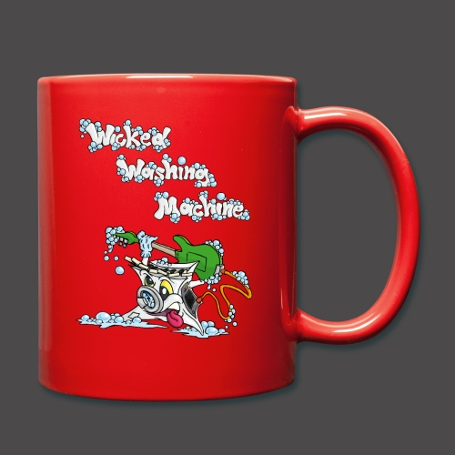Wicked Washing Machine Cartoon and Logo - Mok uni
